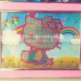 DIY Diamond Painting/DIY diamond funny photo frame/DIY