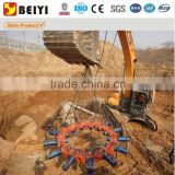 2015 Most advanced BEIYI excavator power source hydraulic pile breaker,pile head cutter machine