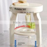 Swivel Bath Stool 360 degree rotating bath stool healthy care supply elderly care 2015 new product