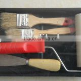 New style innovative sets roller brush, paint roller,sponge brush,design of roller paint brush