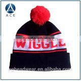 Wholesale Knitted Beanie Hat with Two Balls                                                                         Quality Choice