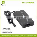 For car and home use universal ac variable output dc power 100w charger supply for laptop