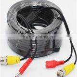 100FT 4.5MM diameter Video and Power DVR CCTV Security Surveillance Camera BNC Cable + RCA Plug(50M Cable)