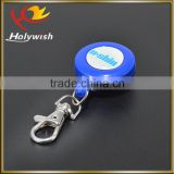 Promotional novelty round plastic yoyo badge reel with lanyard                                                                         Quality Choice