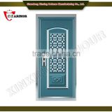 perfect ballistic performance best bullet proof security door/ exterior door with bullet proof