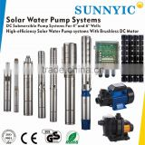 6 inches solar water pumping system for private farm irrigation With MPPT controller                                                                         Quality Choice