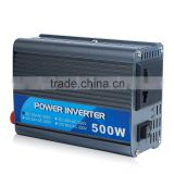 Factory price and Durable 500W DC12V to AC220V Power Inverter for car,trucks,ship, solar off-grid power system