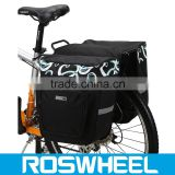 Bike Rear Seat Carrier Basket Polyester Cycling Bag bicycle pannier bag