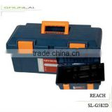 Popular Handle Tool box/ Plastic Toolbox With Lock/ Professional Beauty Toolbox SL-G582D