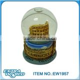 shine polyresin roman snow ball