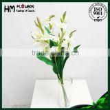 polyester artificial flower cheap plastic flowers