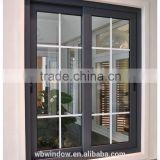 fashionable factory price pvc small sliding windows with grids
