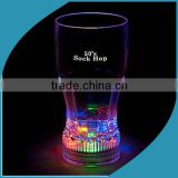 Colorful Flashlight Clear Acrylic Led Wine Cup