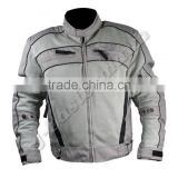 Mens Textile Cordura Motorcycle Jacket with Mesh Inserts