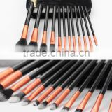 12 Piece Best Selling Imported Synthetic Makeup Brushes With PU Leather Zipper Pouch