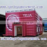Outdoor inflatable party tent inflatable cube tent Pink inflatable TENT for sale SP-T2012