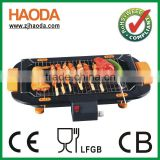 Electric grill for restaurant