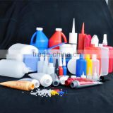 250g china wholesale bottle for Shadowless Acrylic Trophy Adhesive UV Glue with nozzle cap