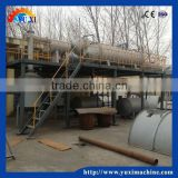 Best selling tyre oil refinery machine / crude tire pyrolysis machine / tire recycling machine