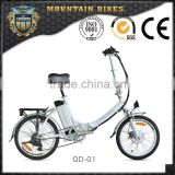 Hot sale Lionhero aluminum electric folding bike li-po battery electric bicycle                                                                         Quality Choice