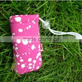 Neoprene Pouch Women bag/adjustable portable mobile phone bag/pink mobile phone waterproof bag for key,coin,money.etc