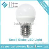 Led Lighting Bulb Led Light Bulb Globe Mini Size G45 P45 3W 220lumen 200 Degree Replace 20W CE RoHS Approval E27 E26 E14 Base