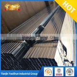 Rectangular and square section shape pre galvanized surface treatment steel pipe tube factory