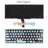 100% Original OEM UK Keyboard Replacement With Backlight For Macbook Air 13.3 inch A1369 A1466 Brand New Grade A