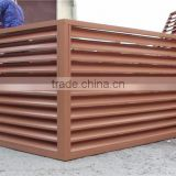 china goods timber composite panel blinds used for outdoor air conditiong