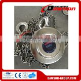 Stainless steel material for lifting equipment chain hoist