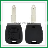 High quality Remote Key Shell fit for PEUGEOT 2 Button 107 206 207 307 407 607 C1 C3 Remote Key Case Fob