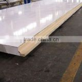 cheaper 7feet- 38feet sandwich panel factory/frp and polyurethane foam sandwich panels for sale