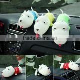 Best selling car Cute Cartoon Long Mouth Dog Bamboo Charcoal Package /Car Decorative products