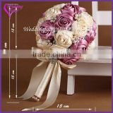 LATEST ARRIVAL Artificial Flowers Fine Design bouquet bridal veil import china