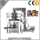 High Speed Vertical Packing System With 14 Heads Weigher/Automatic Granule Vertical Packing Machine
