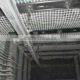 Zhongxiang high tensile strength steel welded wire mesh 3.15mm rock fall protection netting