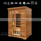 High Quanlity with Newest Technology Low EMF Carbon Infrared Wood Sauna with FSC wood for Children and the Old (CE/RoHS)