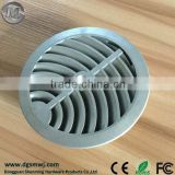 Customized Aluminum Die Casting Vent Cover with Sand blasting