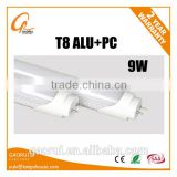 Aluminum Diffuser Plastic Led Tube Light 9W 600mm 60cm 0.6m Epistar 2835SMD High Lumen 3000K 4000K 6000K