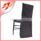 wholesale cheap universal chair covers wedding decoration embroidered sequence beaded silver sequin chair cover