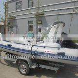 RIB boat 5.2m RIB520 with SAIL Outboards 40HP/60HP