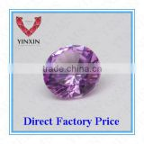 AAA Brilliant Synthetic Ruby#1.5 Pink Ruby Round Shape 6.00mm Corundum