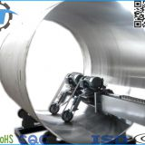 dairy/beverage/beer factory stainless steel tank shell mirror surface auto polisher machinery