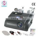 2015 hot sale facial dermabrasion ultrasound & ultrasonic skin scrubber machine with CE