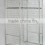 Full security storage cart/roll cage trolley