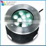 Export stainless steel underwater pool lamp IP68 RGB underwater boat led lights for full time use