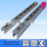 solar photovoltaic stents, slotted c channel, slot channel