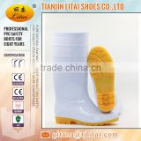 cheap PVC white rain boots for food industrial,Wholesale china factory black cheap pvc rain boots