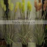 artificial onion grass,potted artificial grass,decorative artificial wheat grass