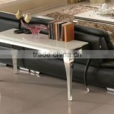 Stainless steel frame Console Tables of Marble top 2015 new arrival